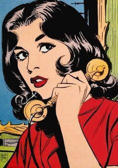 50 Ideas for pop art vintage comics roy lichtenstein Art And Illustration, Gravure Illustration, Bd Pop Art, Pop Art Girl, Pop Art Drawing, Art Drawings, Drawing Ideas, Comic Kunst, Comic Art