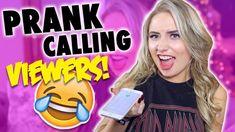 PRANK CALLING VIEWERS!! HILARIOUS!! ( MUST watch )