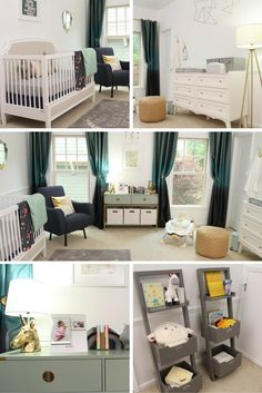 Create a dreamy bedroom haven with the perfect finishing touches. Brought to you by @amfaminsurance >> http://www.hgtv.com/sponsored/galleries/dreamy-nursery?soc=pinterest