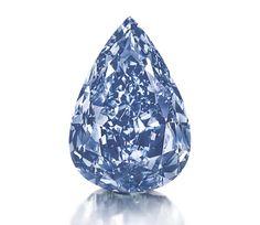 Le Blue Diamond Christie's Genève 2014 Christie's étoffe sa palette de pierres précieuses en présentant The Blue. 13.22 carats d'exception, faisant de ce trésor le plus gros diamant bleu fancy vivid du monde. Rendez-vous est donné à Genève le 14 mai prochain pour tenter d'enchérir sur le prix de départ de cette belle taille poire facettée, estimée à 25 000 000 de dollars