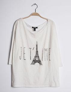 tee shirt écru imprimé je t'aime - http://www.jennyfer.com/fr-fr/promotions/super-bons-plans/tee-shirt-ecru-imprime-je-t-aime-10002902001.html