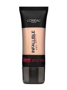 2016 Readers' Choice Award-Winning Beauty Products: L'Oréal Paris Infallible Pro-Matte Foundation | Allure.com