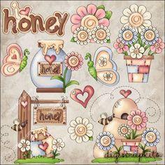 Happy Spring 1 Clip Art Set