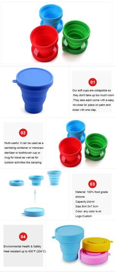 Travelling knowledgi Silicone Collapsible Bowl Multifunctional Foldable Silicon Bowl Collapsible Camping Bowl with Lid Suitable for Outdoor Camping and Hiking