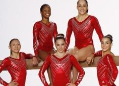 Bling olympic leotards