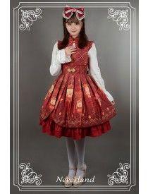 Neverland Lolita ~Palace Lantern~ Open Front Qi Lolita JSK
