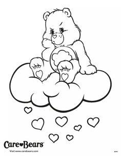 Grumpy coloring page