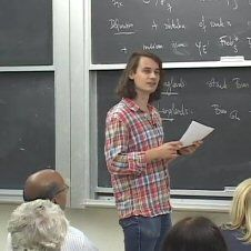 Peter Scholze from the University of Bonn lectures on p-adic geometry.   http://www.msri.org/seminars/20968