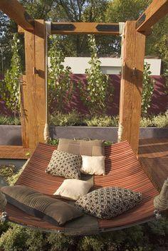 Fantastisch Schauen Sie Sich Diese Wunderschöne Ideen Für Komfortable Hängebett Designs  Im Garten Oder Auf Der Terrasse