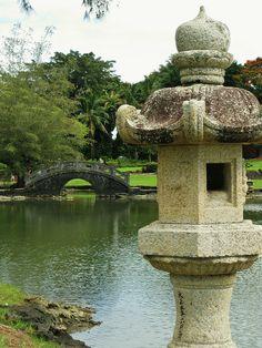 Queen Liliuokalani Gardens. Hilo, Hawaii.