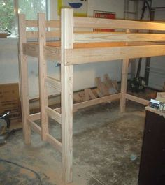 Build It Yourself and Build It Safe With Loft Bed Plans