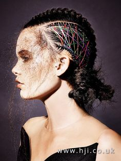 Jamie Stevens финалист BHA 2016 в номинации British Hairdresser of the Year