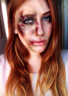 Busted Bone Latex Zombie Horror Scar Makeup Special FX Costume accessory