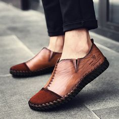 Men'S casual summer leisure shoes fashion hipster footwear-buy at a Formal Shoes, Casual Shoes, Men Casual, Hipster Shoes, Fashion Shoes, Mens Fashion, Latest Fashion, Fashion Trends, Leather Sandals Flat