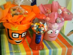 Party Favors for a Yo Gabba Gabba party #yogabbagabba #partyfavors