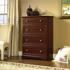 BESTSELLER! Sauder Palladia 4 Drawer Chest in Sel... $219.96