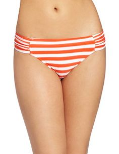 Amazon.com: Seafolly Women's Seaview Ruched Side Retro Pant: Clothing