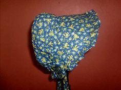 #Sunbonnet #Toddler #Blue A Hundred #YellowRibbons 9 to 24 months LIMITED #GrandmasGirl #SummerDays - pinned by pin4etsy.com