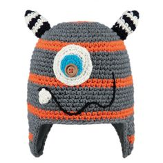 Barts Monster Beanie Kids Ski Hat in Orange