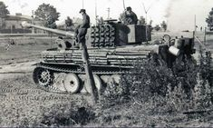 """A Befehlstiger Ausf E turret number C, """"Caesar"""" from the Tiger Ii, Ww2 Panzer, Military Armor, Tiger Tank, Ww2 Tanks, World Of Tanks, Military Photos, Military Equipment, German Army"""