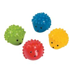 2015 - Advent Calendar; Hedgehog Molded Bouncing Balls - OrientalTrading.com