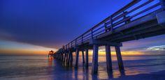 the Old Pier by Jorge Ramirez Photography on Jorge Ramirez, Naples Pier, Sunrise, Beautiful Places, Old Things, Florida, Bridges, Fishing, Photography