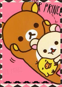 rilakkuma bear coloring pages - photo#45
