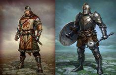 Los Caballeros Mediavales eran los nobles caballeros de la Edad Media, regidos por una serie de valores que dominaban su existencia.