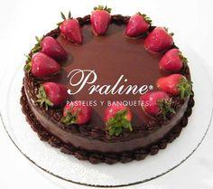 Chocolate y fresas, la combinación ideal.