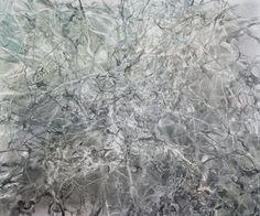 Heavy Rain, watercolor on canvas, © Anita Levering 2015 Watercolor Canvas, Austerity, Contemporary, Rain, Change, Outdoor, Painting, Decor, Dekoration