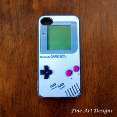 Say whattt!? Iphone4 Game boy case!