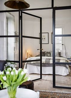 23 + Dreamy Master Bedroom Ideas and Designs That Go Beyond The Basic Home Interior, Interior Architecture, Interior Design, Design Art, Small Apartments, Small Spaces, Home Bedroom, Bedroom Decor, Bedrooms