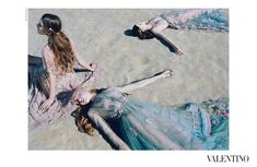 Stunning Valentino SS 2015 Ad Campaign shot by Michal Pudelka and styled by Karl Templer
