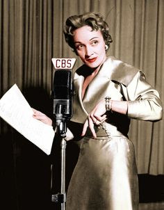 ON THE AIR - Marlene Dietrich - CBS Radio