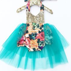 Hollywood Glam Tutu Sparkle Romper READY TO SHIP #bellethreadspinterest