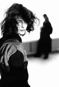 actrice britannique française ∮ charlotte rampling by arthur elgort (french british actress portrait black and white)