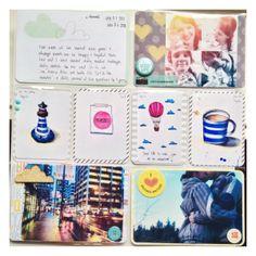 Project Life 2014 - January by Olya Schmidt, via Behance
