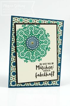 stampin up moroccan washi tape - Google Search