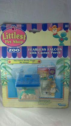 Kenner G1 Littlest Pet Shop MOC Fearless falcon by PoniesAndPets, $175.00