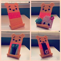 Instagram media by christinealuo - Made a Winnie the Pooh phone stand! This was…