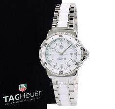 NEW Tag Heuer Formula 1 Ceramic WAH1313.BA0868 F-1 Ladies Diamond Watch #TAGHeuer #LuxurySportStyles