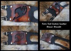 Fairy Tail Bracer Bracelet by Epic-Leather.deviantart.com on @DeviantArt