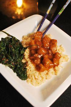 Sesame Tofu and Japanese Sesame Spinach