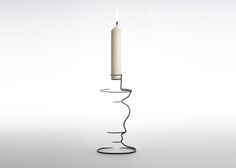 Not a sketch, but a real, solid candlestick by Maya Selway. You should see the bowl, bottle, and vase.