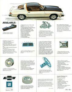1975 Chevrolet Camaro Rally Sport