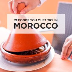 Morocco was full of flavors that were new to us. Here are 21 Moroccan foods to try when visiting Morocco (depending on how adventurous you like to eat).