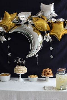 Image result for moon party ideas baby