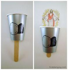 Kids Easter Craft - finddailyjoy.com