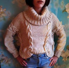 Свитер Оверсайз Turtle Neck, Sweaters, Fashion, Moda, La Mode, Sweater, Fasion, Fashion Models