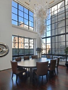 A loft in Tribeca. Not bad....